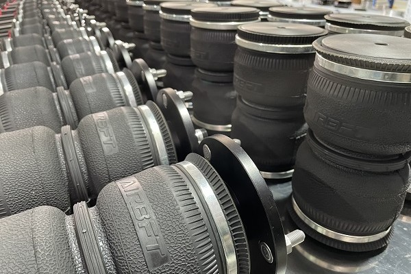 Assembly site of airbft airsuspension shock absorber