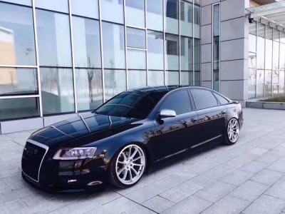 Audi A6c6 airsuspension picture black knight