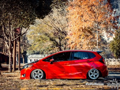 Honda fit gk5 bagged