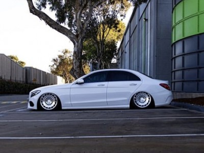 Benz c200/w205 lowered