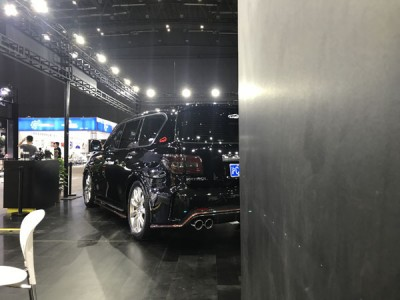 Nissan Y62 Nismo Airsuspension Exhibition