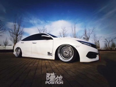 10 New Honda civic lowered share