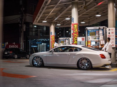 Bentley Continental GT lowered Pursuit of unique body shape