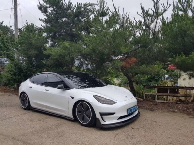 Tesla model3 airsociety in Korea First set