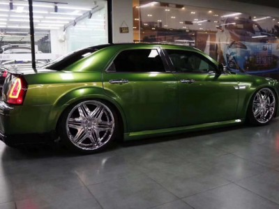 "Chrysler 300C stancenation airride""Emerald green"""