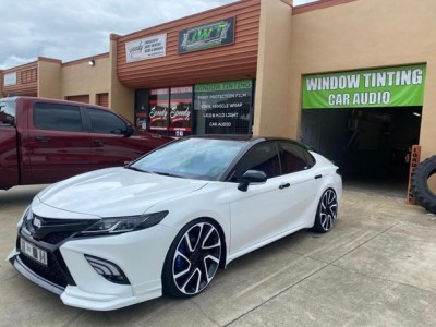 American 2020 Camry refits airbft airride