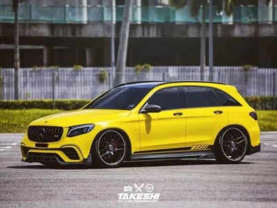 "Benz Glc AirRide From Malaysia""Very yellow and violent"""