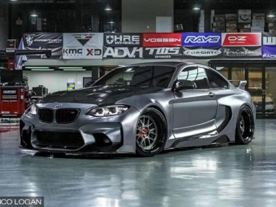 Bmw M2 AirBFT AirRIDE Wide bodied Warrior in Indonesia