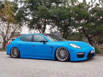 Airbft South Korean agents share the airsuspension of the Porsche paramera
