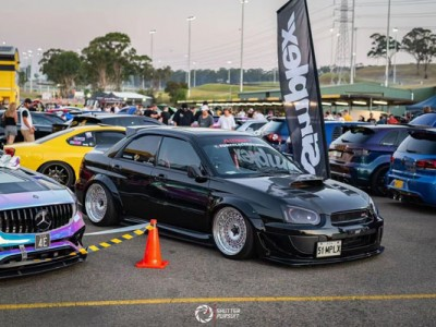 Sparu STI air suspension party in Australia won 3 trophies