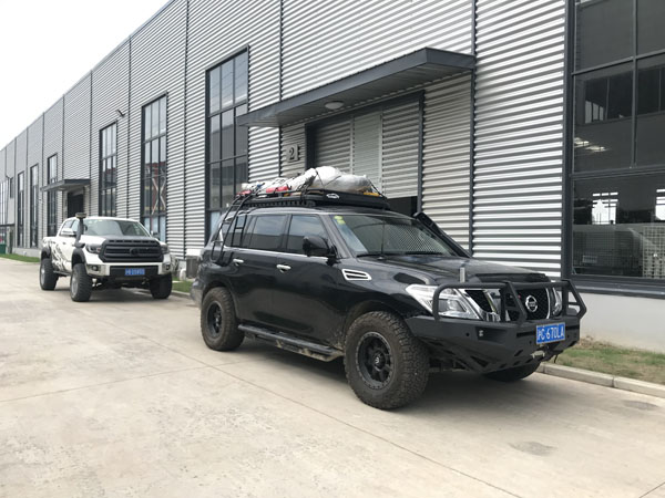 Airbft airbags Lop nor Road test 2019